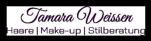 Logo Tamara Weissen Haare, Make-up, Stilberatung